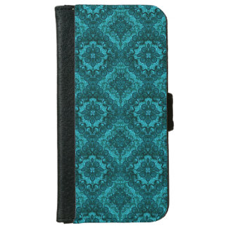 Peacock Teal Renaissance Swirl Galaxy S5 Case
