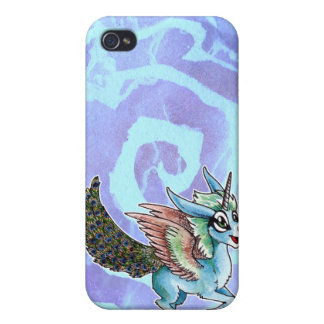 Peacock Unicorn iPhone 4/4S Cases
