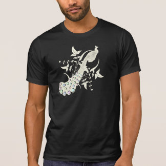 Peacock Vintage Design Tshirts