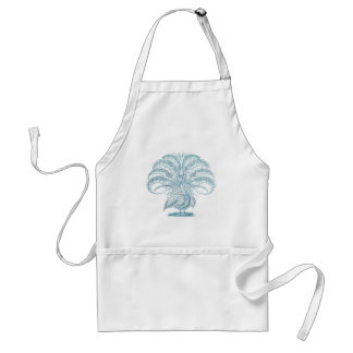 Peacock with Outstretched Feathers Standard Apron