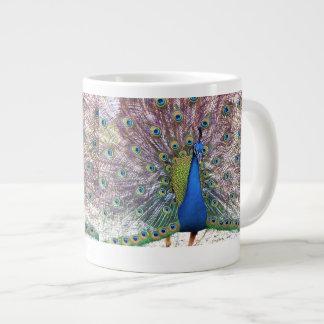 Peacocks Jumbo Mug
