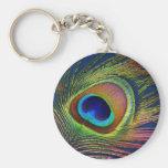 peacocky keychain
