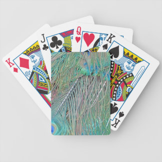 Peafowl Decadence Bicycle Playing Cards