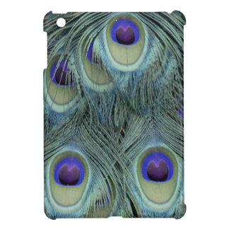 Peafowl Feathers With Big Eyes iPad Mini Cover