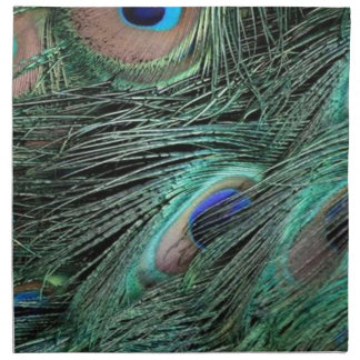 Peafowl Flumes Cloth Napkin