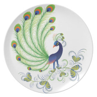 Peafowl Party Plate