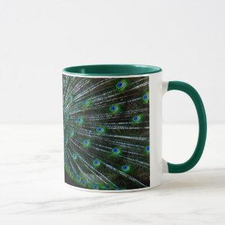 """""""Peafowl Plumage"""" Mug"""