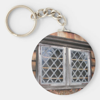 Peak House Window ~ keychain