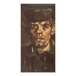 Peaked Cap by Vincent van Gogh Photo Cards