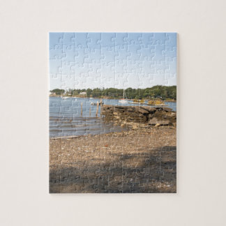 Peaks Island, ME Club Beach Jigsaw Puzzle