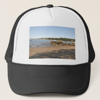 Peaks Island, ME Club Beach Trucker Hat