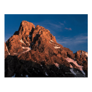 Peaks of Grand Teton National Park , Wyoming Postcard