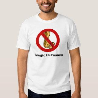 Peanut allergy t shirt