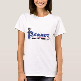 Peanut and the Petsitters logo t shirt