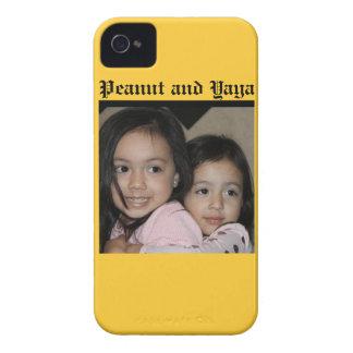 Peanut and Yaya iPhone 4 Case