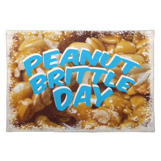 Peanut Brittle Day - Appreciation Day Placemat