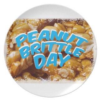 Peanut Brittle Day - Appreciation Day Plate