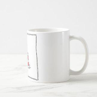 Peanut Butter and Jelly Basic White Mug