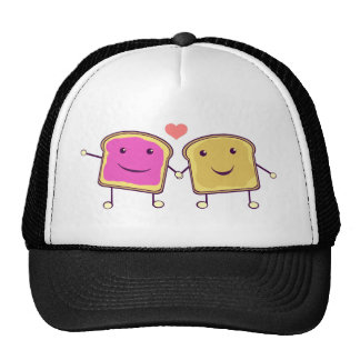 Peanut Butter and Jelly Mesh Hat