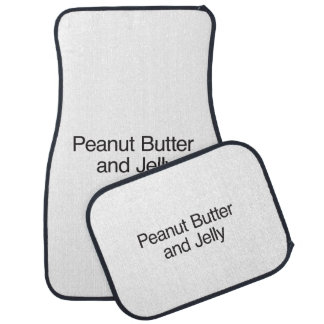 Peanut Butter and Jelly Car Mat