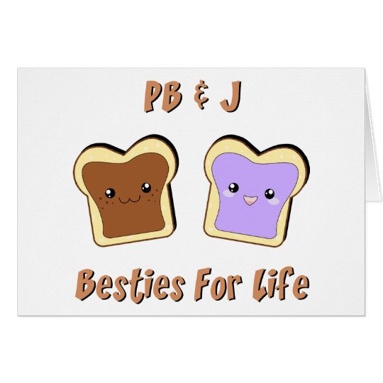 Peanut Butter and Jelly Card