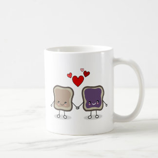 Peanut Butter and Jelly Coffee Mug