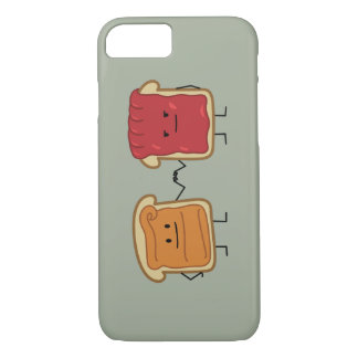Peanut Butter and Jelly Fist Bump iPhone 7 Case