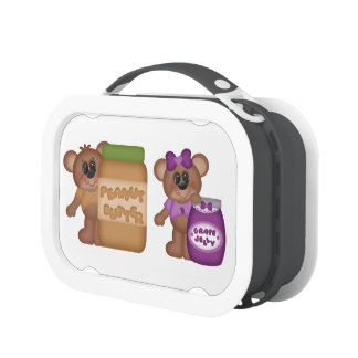 Peanut Butter and Jelly Lunch Boxes