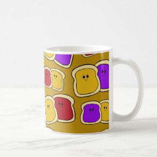 Peanut Butter and Jelly Mug - PBJ Mug