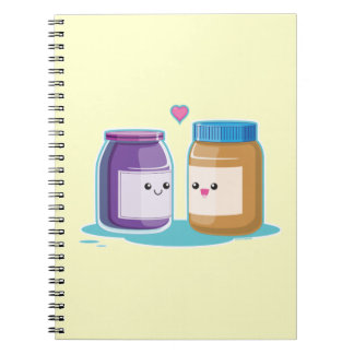 Peanut Butter and Jelly Notebook