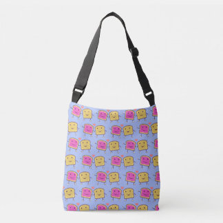Peanut Butter and Jelly Pals TP Crossbody Bag