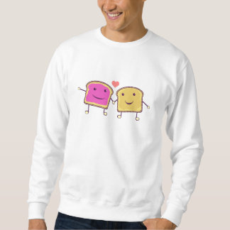 Peanut Butter and Jelly Pull Over Sweatshirt
