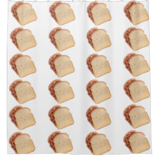 Peanut Butter and Jelly Sandwich Shower Curtain