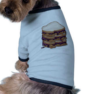Peanut Butter and Jelly Sandwiches Pet Clothing