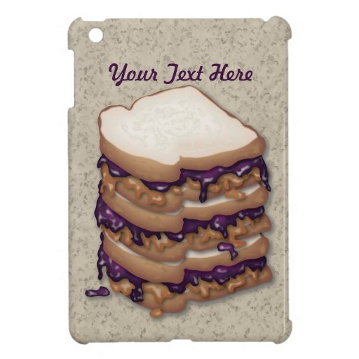 Peanut Butter and Jelly Sandwiches Case For The iPad Mini