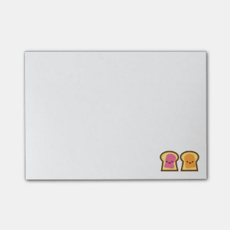 Peanut Butter and Jelly Toast Friends Post-it Note