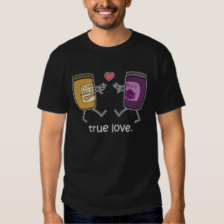 "Peanut Butter and Jelly ""True Love"" Shirt (Dark)"