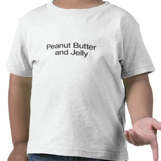 Peanut Butter and Jelly Tee Shirts