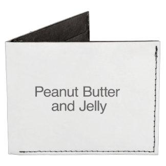 Peanut Butter and Jelly Tyvek® Billfold Wallet
