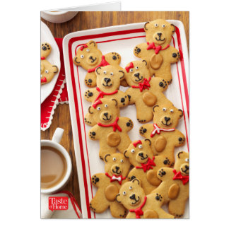Peanut Butter Bears Card