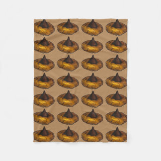 Peanut Butter Blossom Chocolate Cookie Blanket