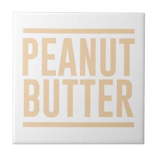 Peanut Butter Ceramic Tile