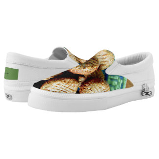 Peanut Butter Cookie Slip On Sneakers