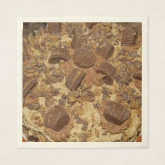 PEANUT BUTTER CUP LOVERS! DISPOSABLE NAPKIN
