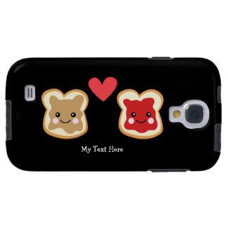 Peanut Butter & Jelly (customizable) Galaxy S4 Case