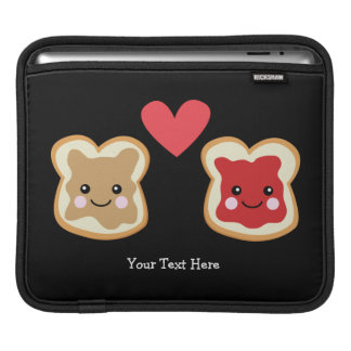 Peanut Butter & Jelly (customizable) Sleeves For iPads