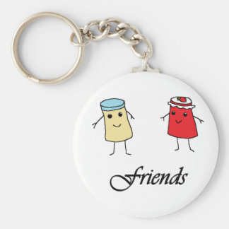 Peanut butter & Jelly Friends Keychains