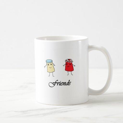 Peanut butter & Jelly Friends Coffee Mug