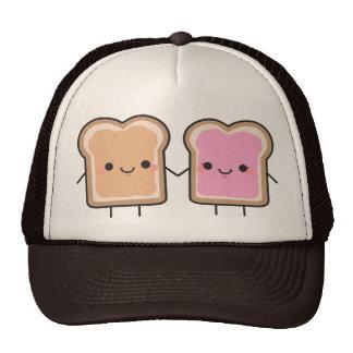 Peanut Butter + Jelly Hat