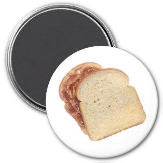 Peanut Butter & Jelly Sandwich Magnet